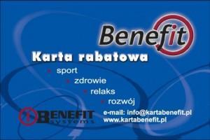 Benefit Karta Rabatowa Prima Dance