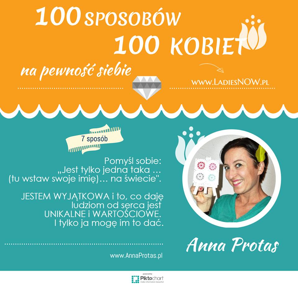sposób na budowanie pewności siebie Anna Protas Ladies Now