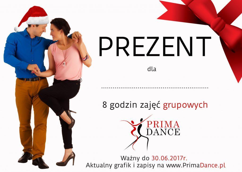 pomysł na prezent Prima Dance
