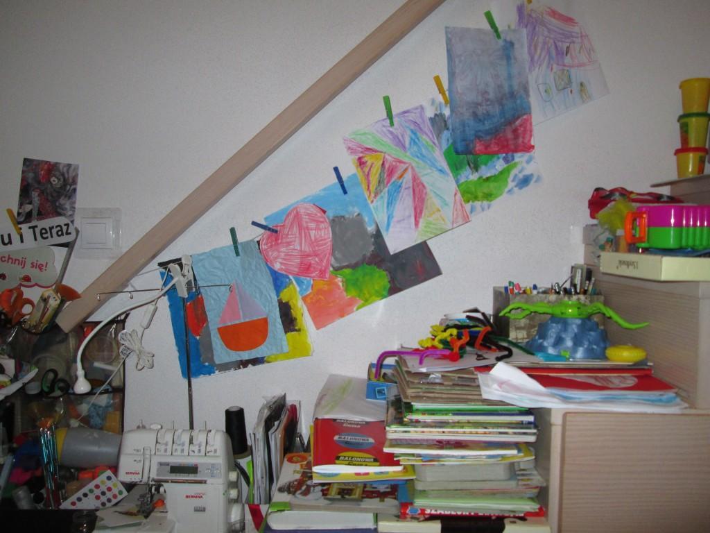 kreatywność w życiu wernisaż na sznurku