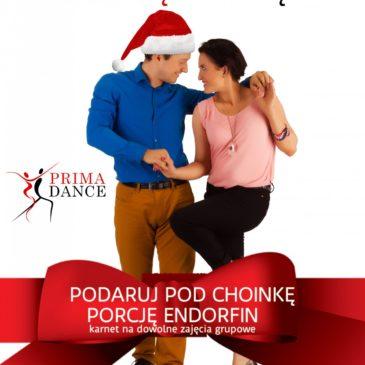 pomysł na prezent świąteczny Prima Dance