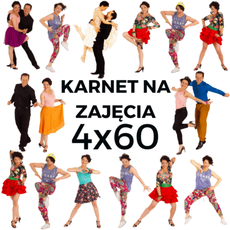 karnet na 4 godziny zajęć Prima Dance