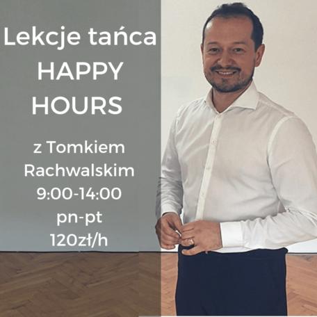 Lekcja Tańca Happy Hours z Tomkiem Rachwalskim miniaturka