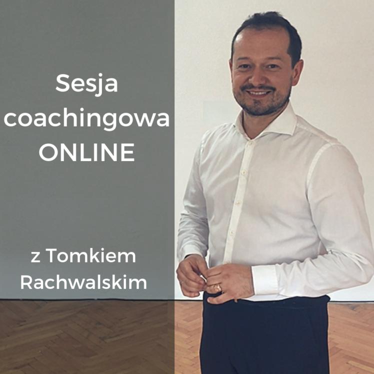 sesja coachingowa z Tomkiem Rachwalskim