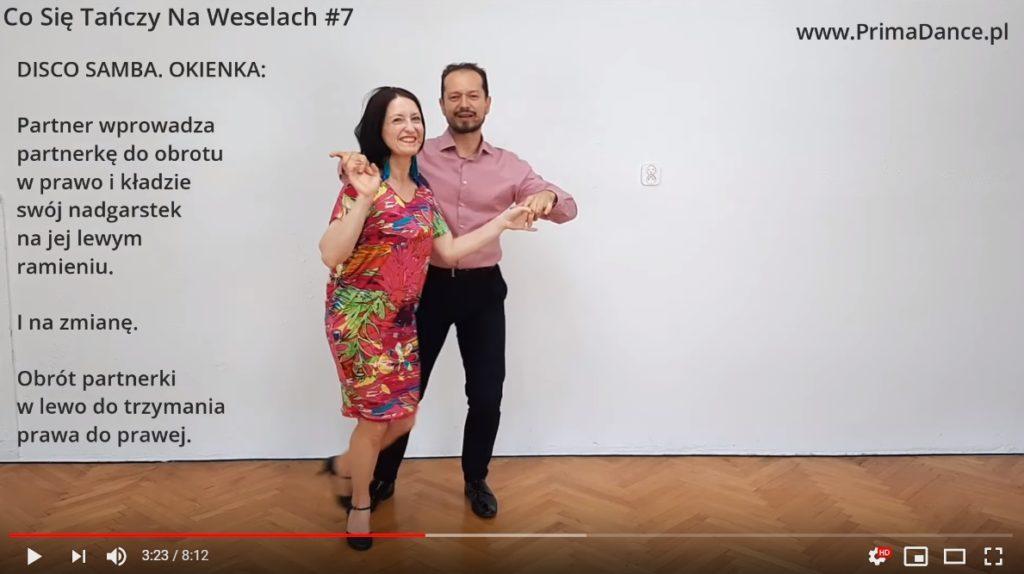 taniec na wesele Disco Samba
