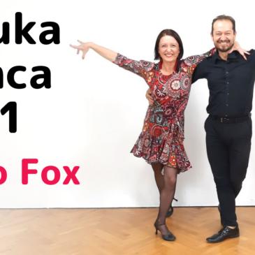 Nauka tańca #1 Disco Fox – Zamiana Miejsc, Przekręcone Skrzydełko i Ramię W Ramię.