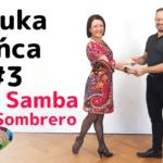 Nauka tańca #3 Disco Samba – Sombrero i Obrót Solowy Partnera w Lewo. Bądźcie w swoim rytmie jak Azjaci!