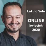 Porusz ciało i uwolnij emocje - Latino Solo ONLINE z Tomkiem - kwiecień 2020 bez wychodzenia z domu